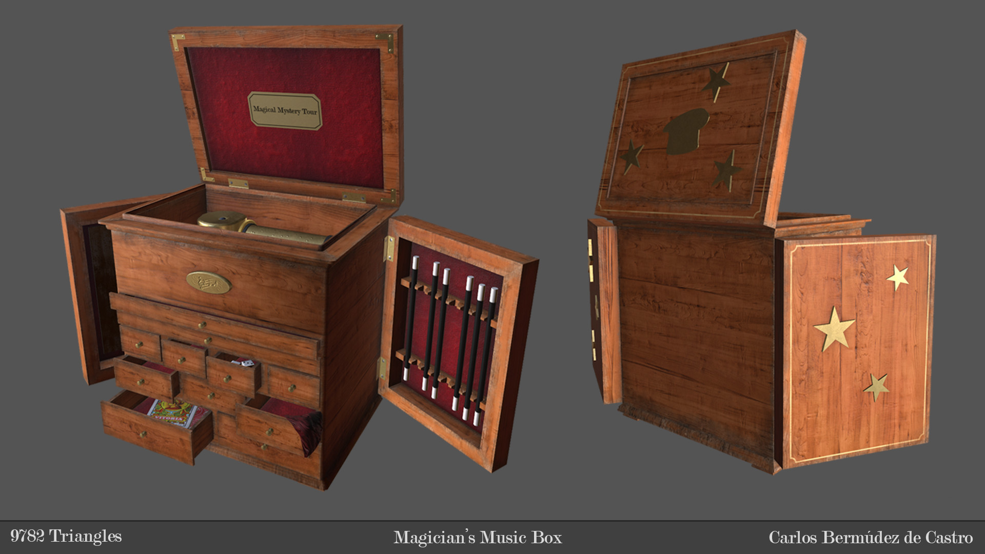 Artstation Magician S Music Box Carlos Berm Dez De Castro Muela # Muebles Heve Castro