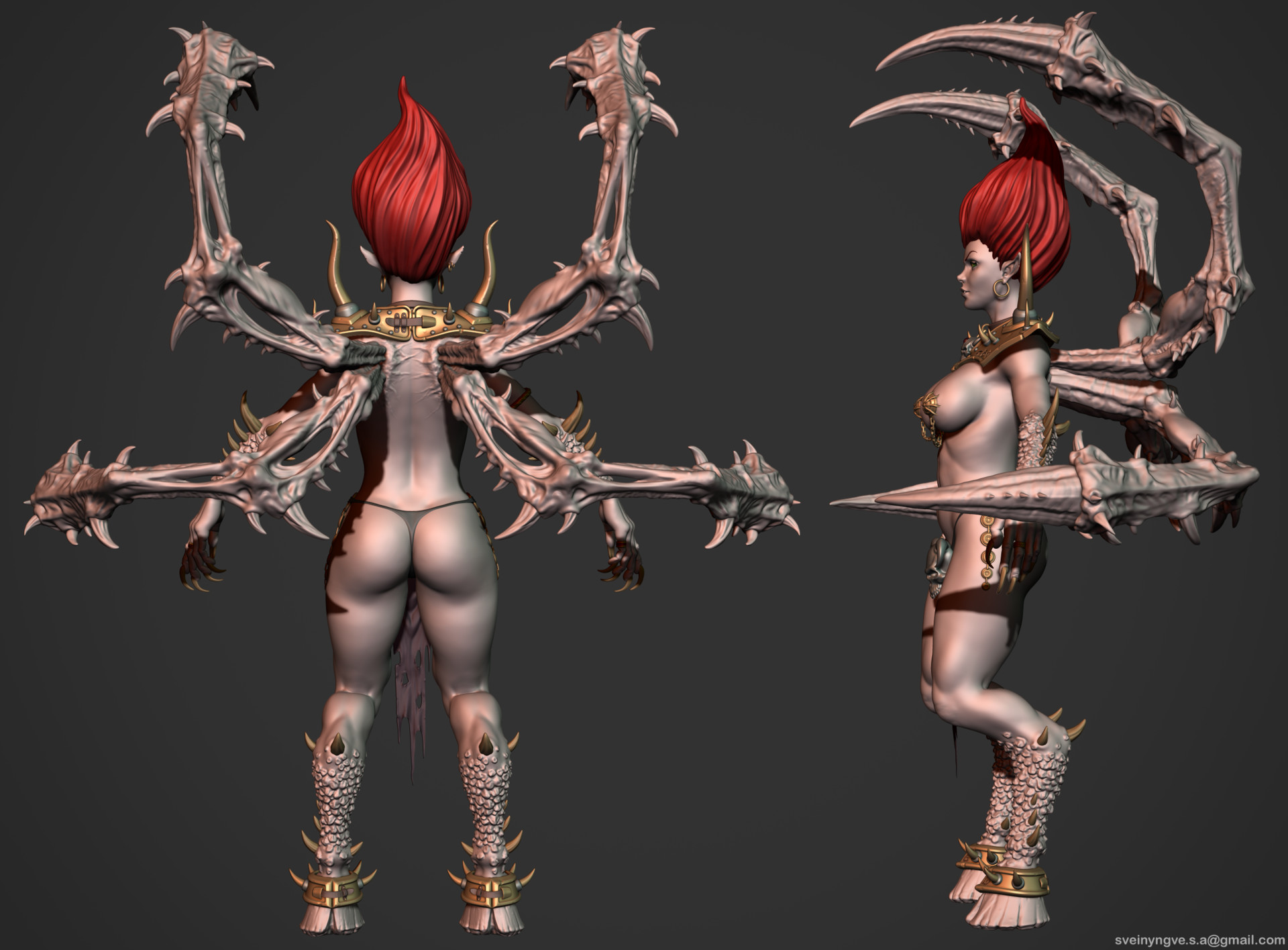 Diablo 2 nude porn photo