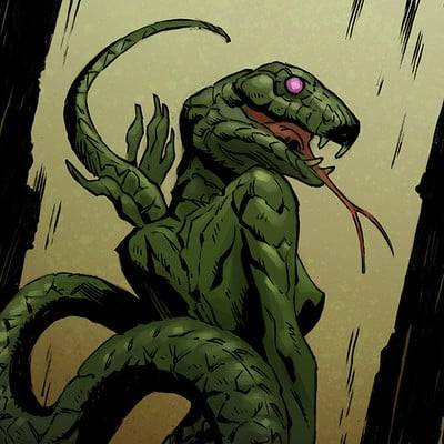 James daly cthulu serpentpeople
