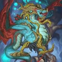 ArtStation - 2018 The Earth Bull Dragon - Zodiac Dragons
