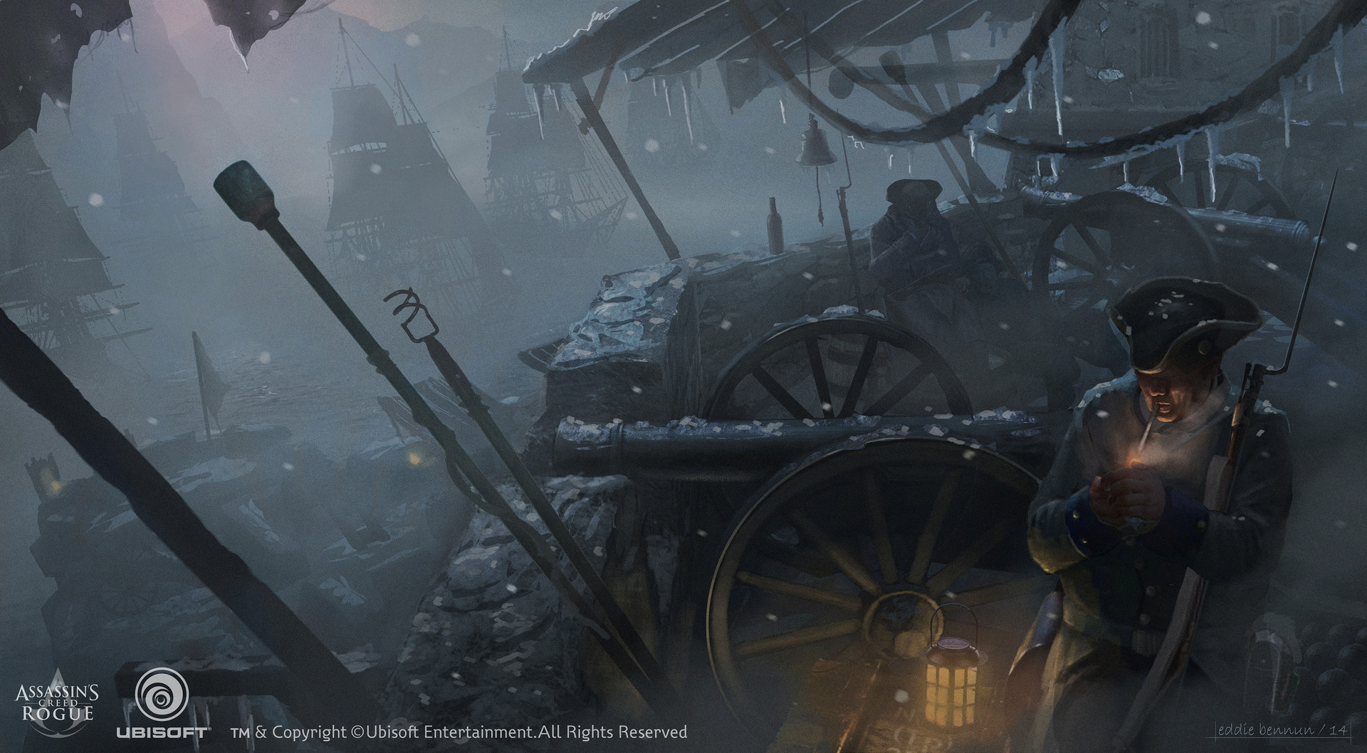 Eddie bennun acc sc rivervalley menace in the fog ddiebennun