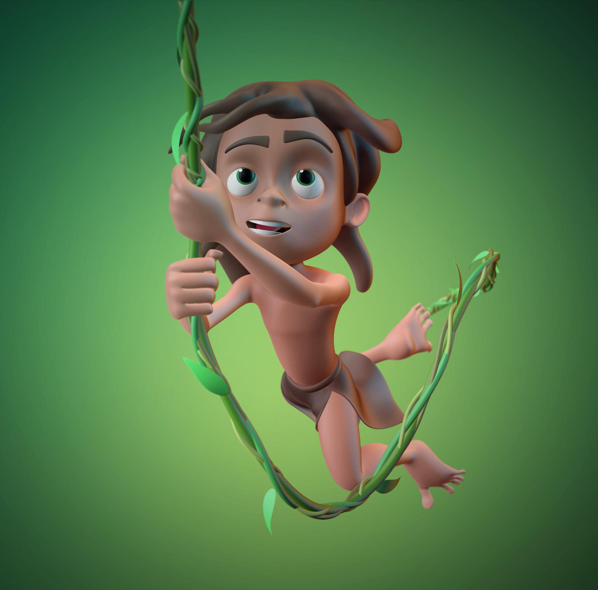 Jose Baldo Tarzan Boy Fan Art
