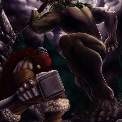 Alejandro castillo ogre attack by gaering d7wpib9