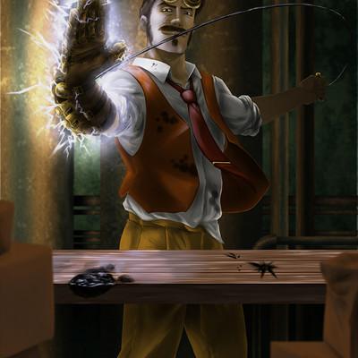 Alejandro castillo steampunk warrior01 by gaering d8fflv0