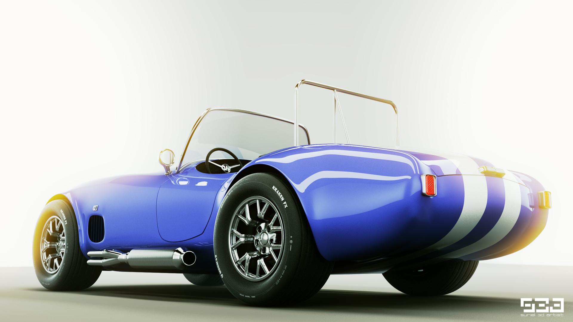 Hector Suriel Shelby Ac Cobra 427