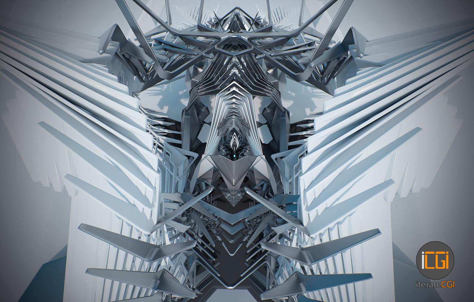 Generative 3D symmetry