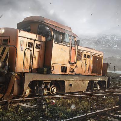 Tamas gyerman train 1920