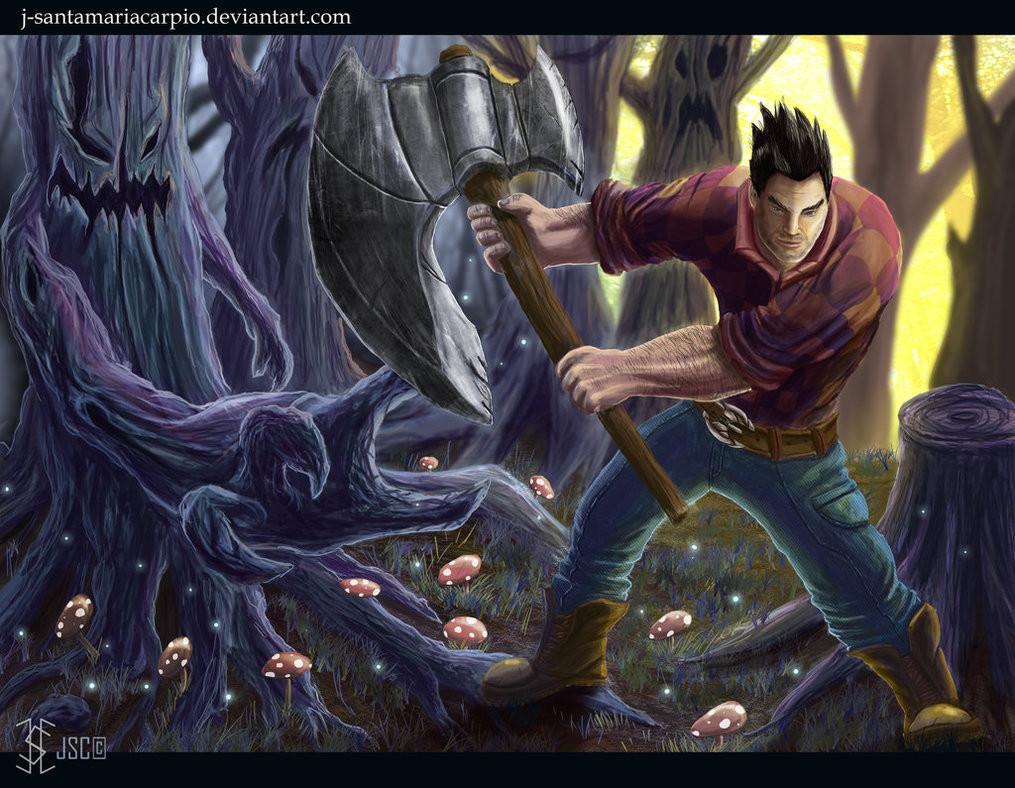 ArtStation - League of legends Darius skin, Javier Santamaria Carpio