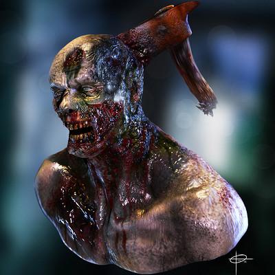 Elias santos zombie by santosart d7dsctu