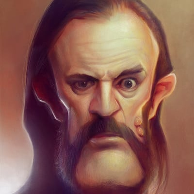Serge birault lemmy with colours by papaninja d4s6ws1