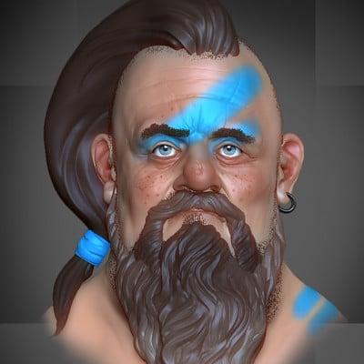 Scottish warrior - ZBrush