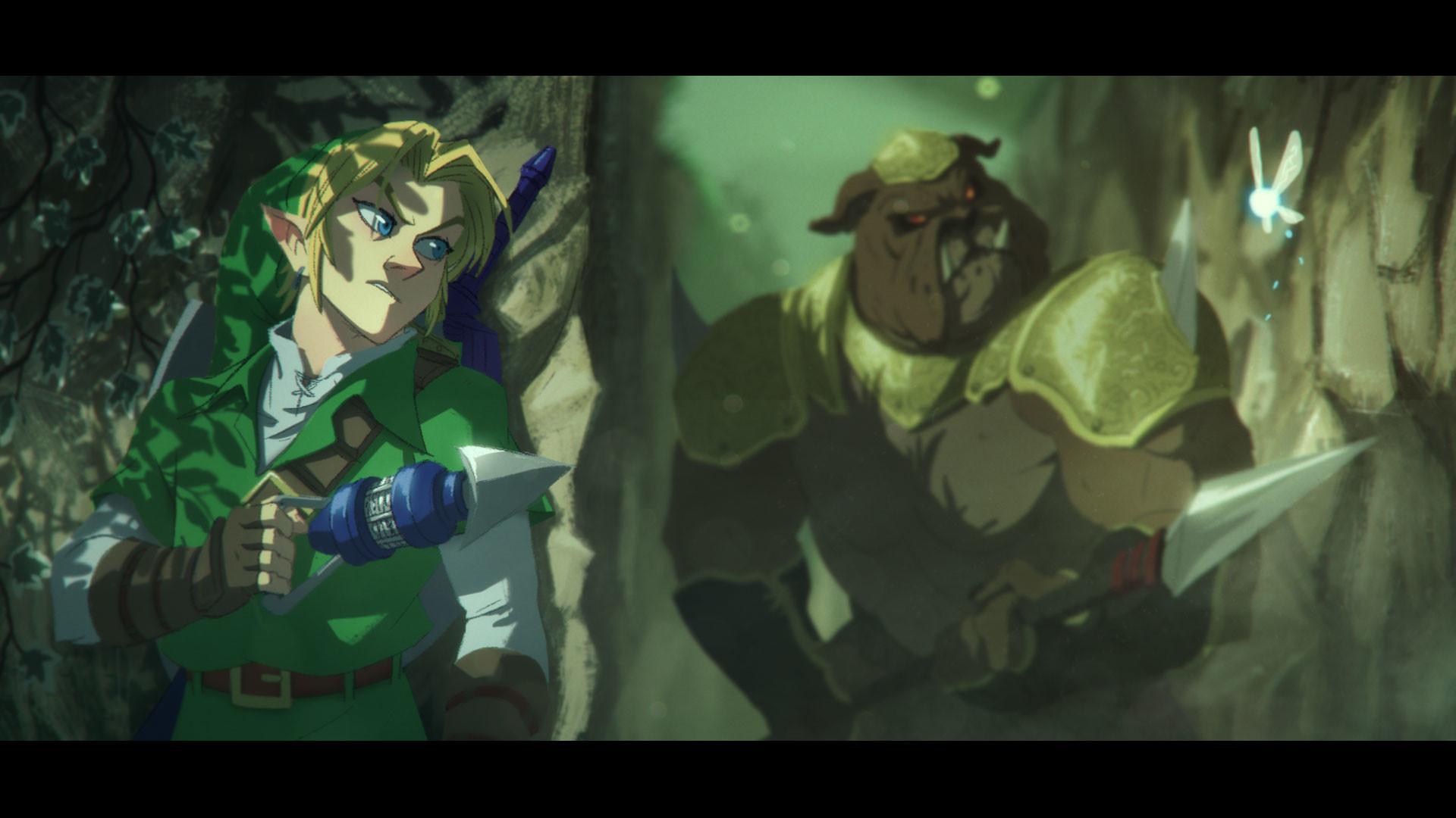 Artstation The Legend Of Zelda Oot Julen Urrutia