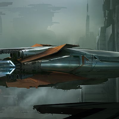 Martin deschambault project 77 spaceshipl www
