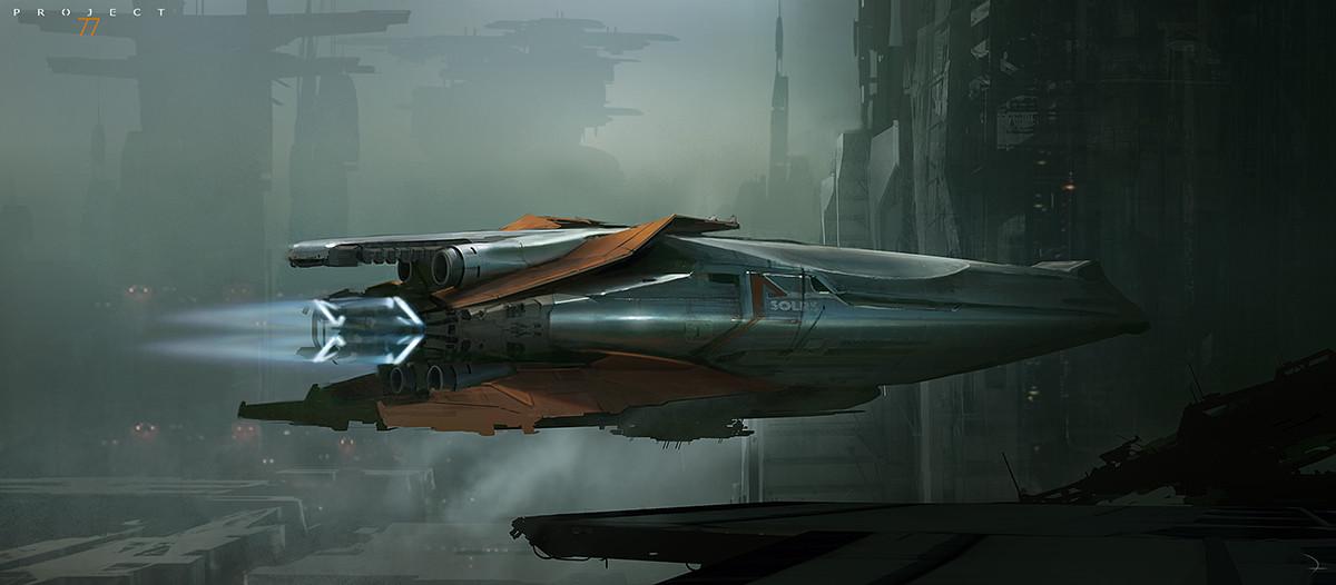 Martin deschambault project 77 spaceshipl www