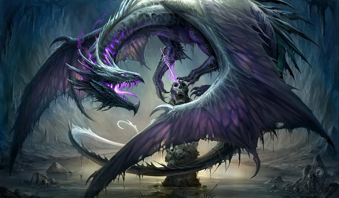 Artstation black dragon sandara tang - Awesome dragon pictures ...