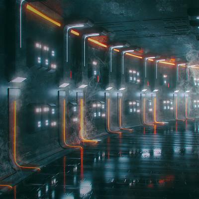 Kresimir jelusic 82 301215 scifi corridor