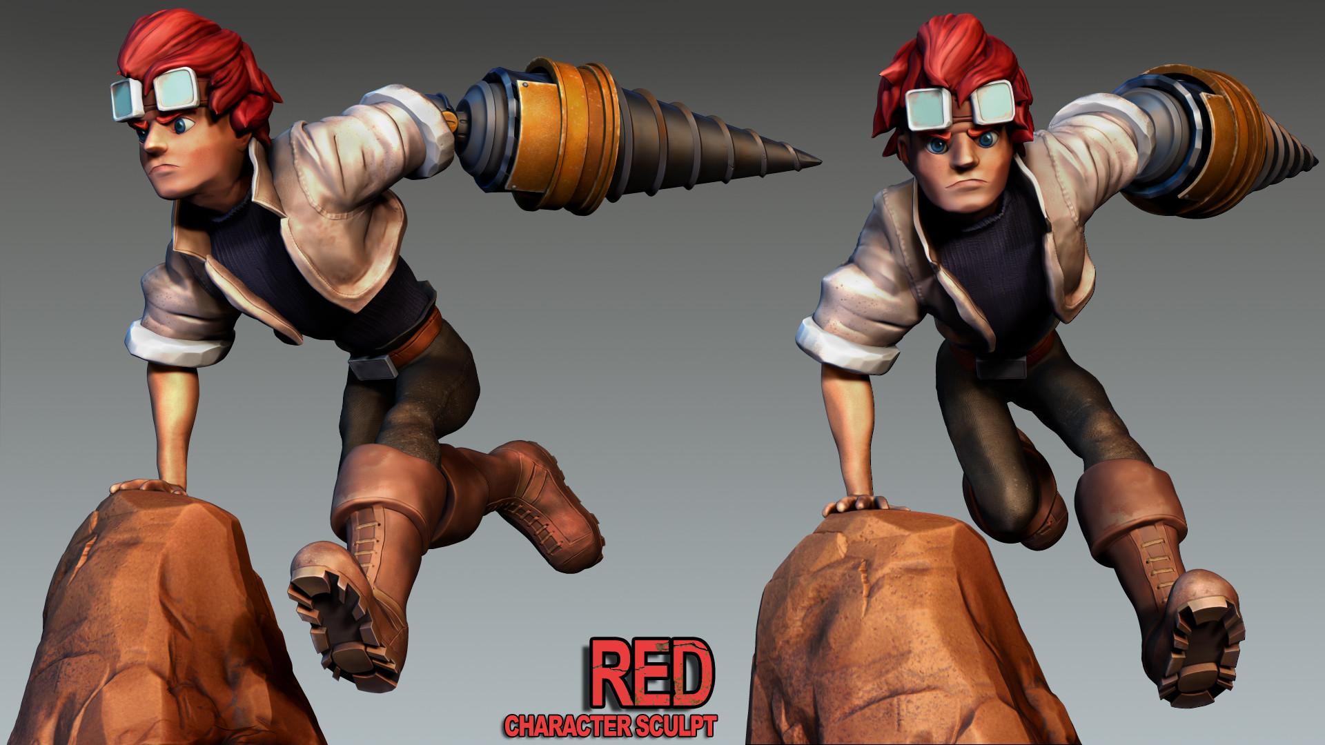 Pm casey red composite