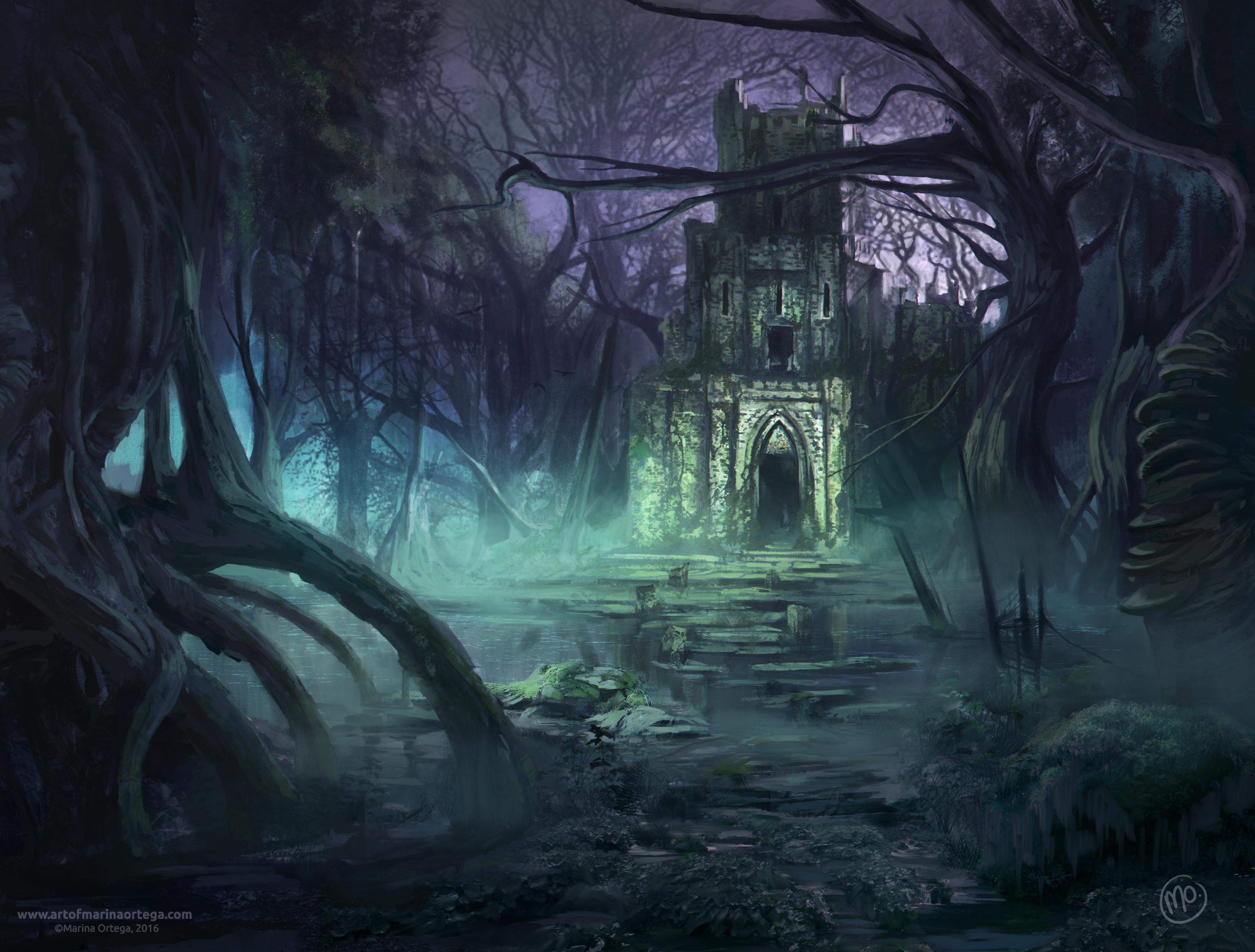 Swamp art