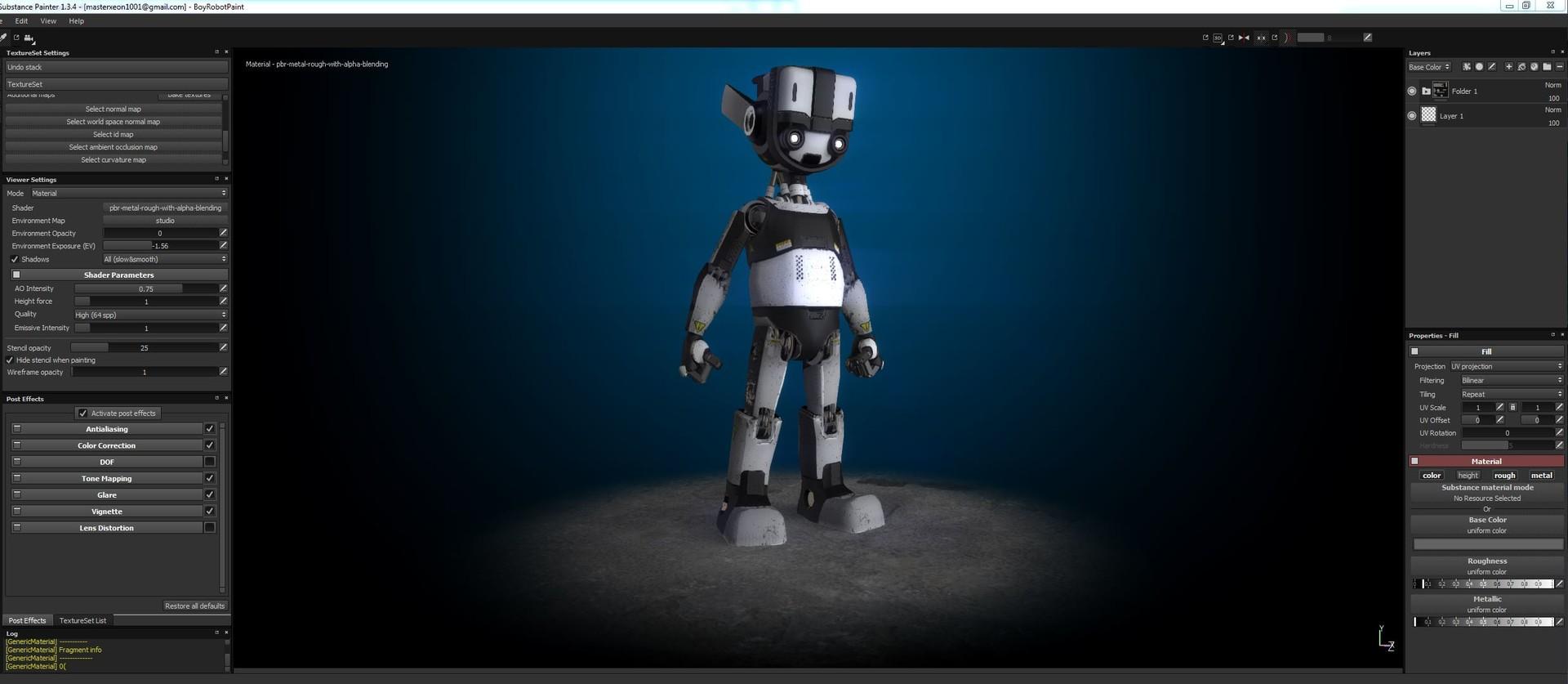 Jerry perkins mx1001 boyrobotpainterwip1
