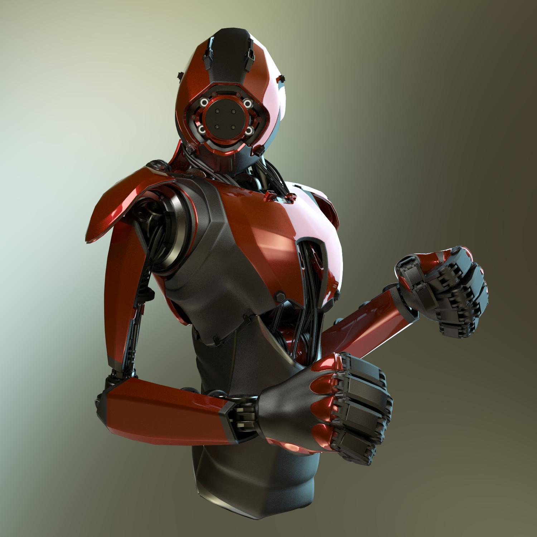 Jerry perkins mx1001 robot day7 3