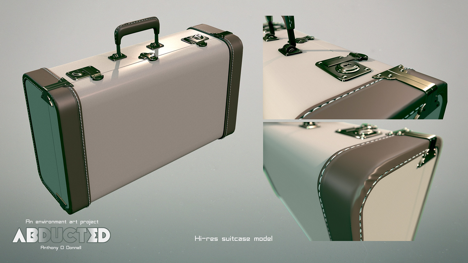 Anthony o donnell ad banded suitcase hires