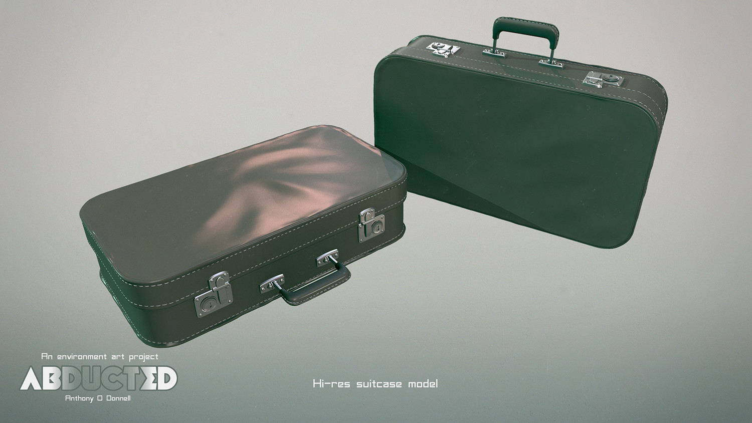 Anthony o donnell ad leather suitcase hires