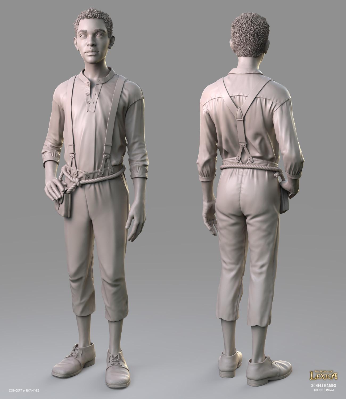 John deriggi talljohn sculpt beauty01