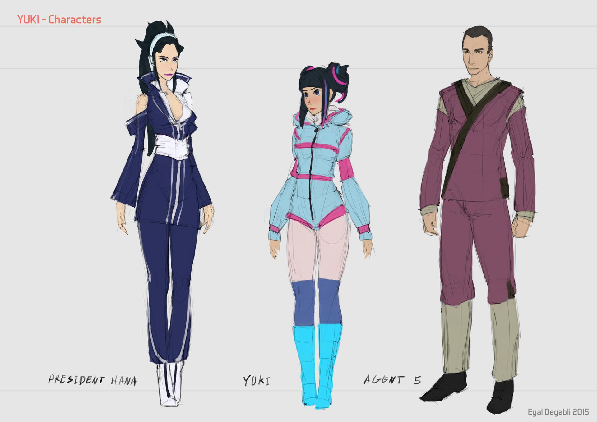 Eyal degabli 02 queen yuki agent