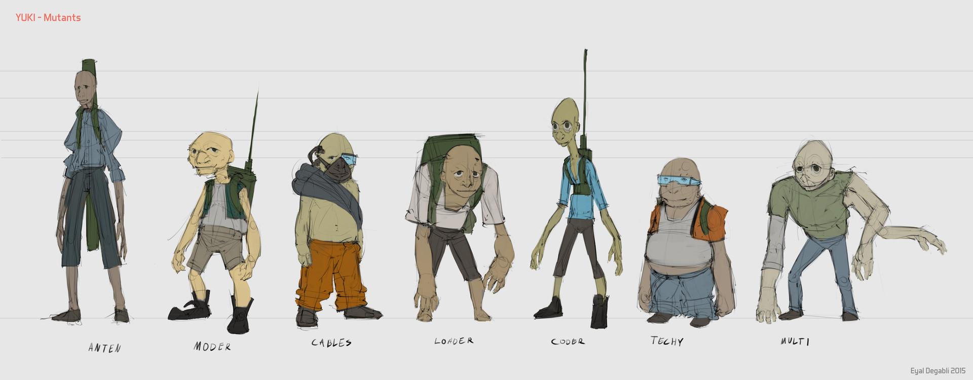 Eyal degabli 06 mutants