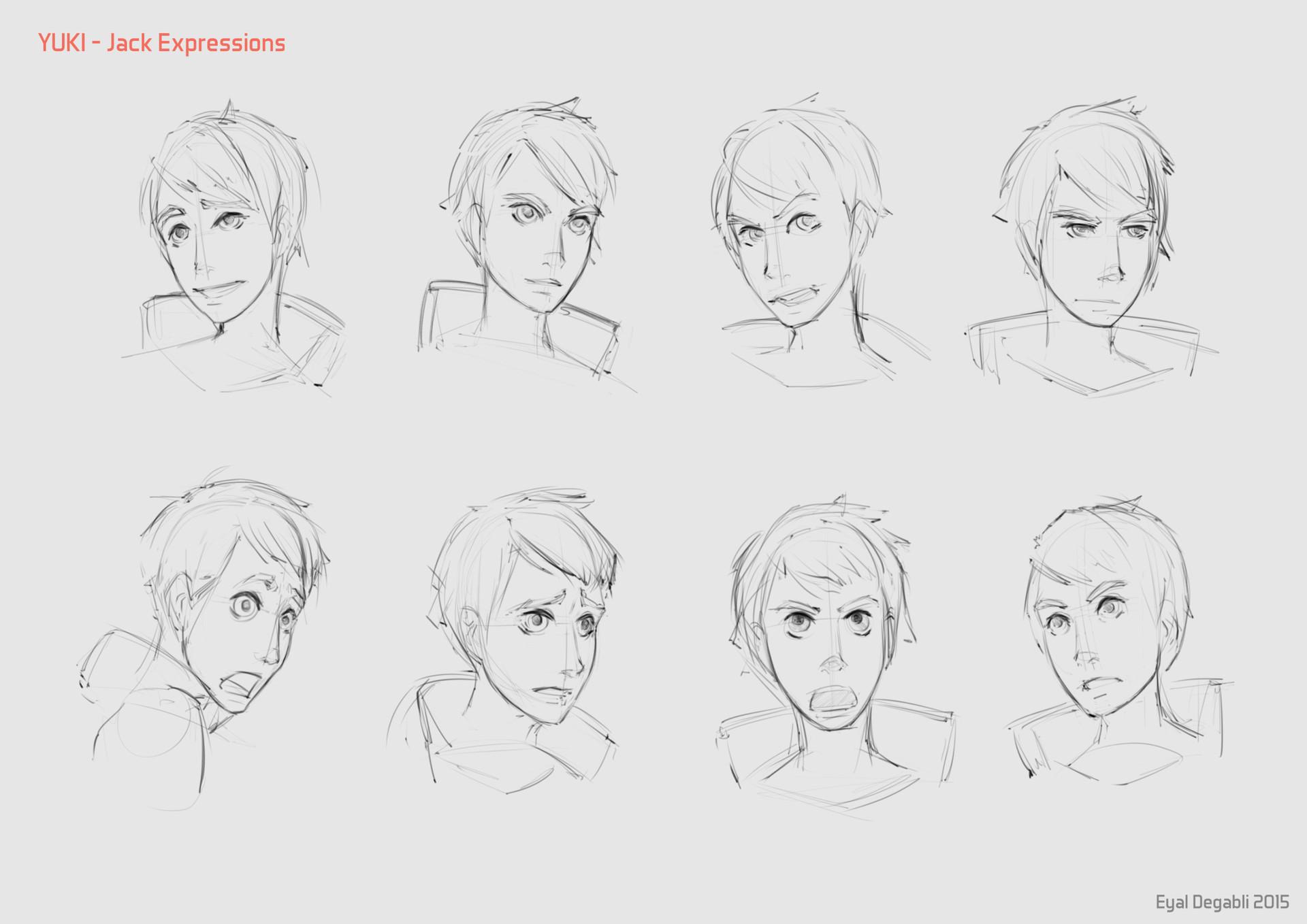 Eyal degabli 10 expressions jack