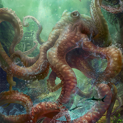 Vasilyna holod octopus demi
