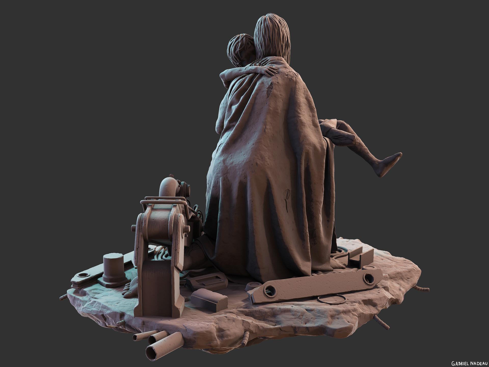 Gabriel nadeau statue final 106