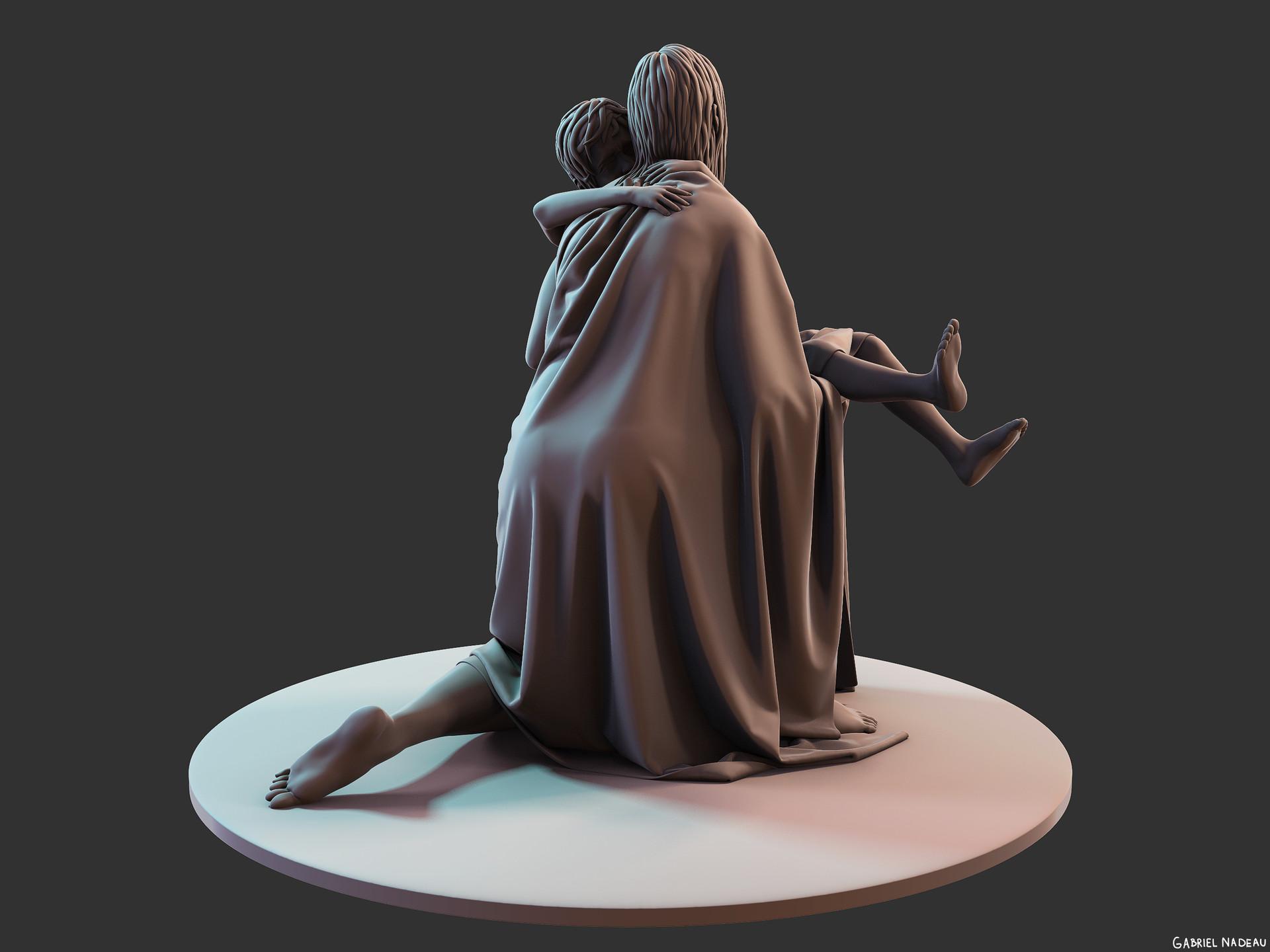 Gabriel nadeau statue clean 106