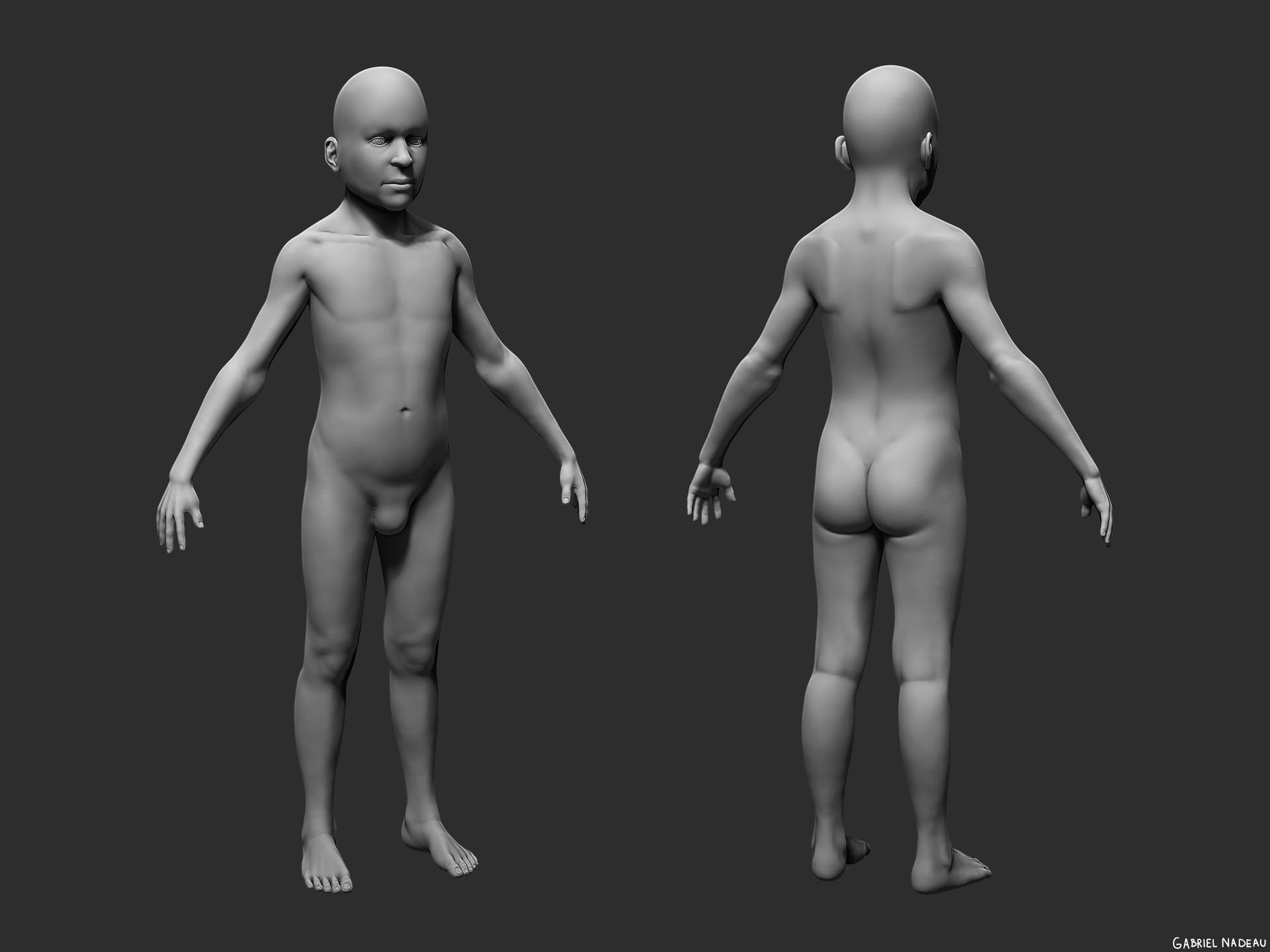Gabriel nadeau anatomie enfant