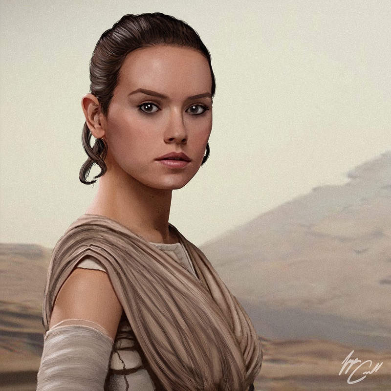 The Force Awakens Portraits