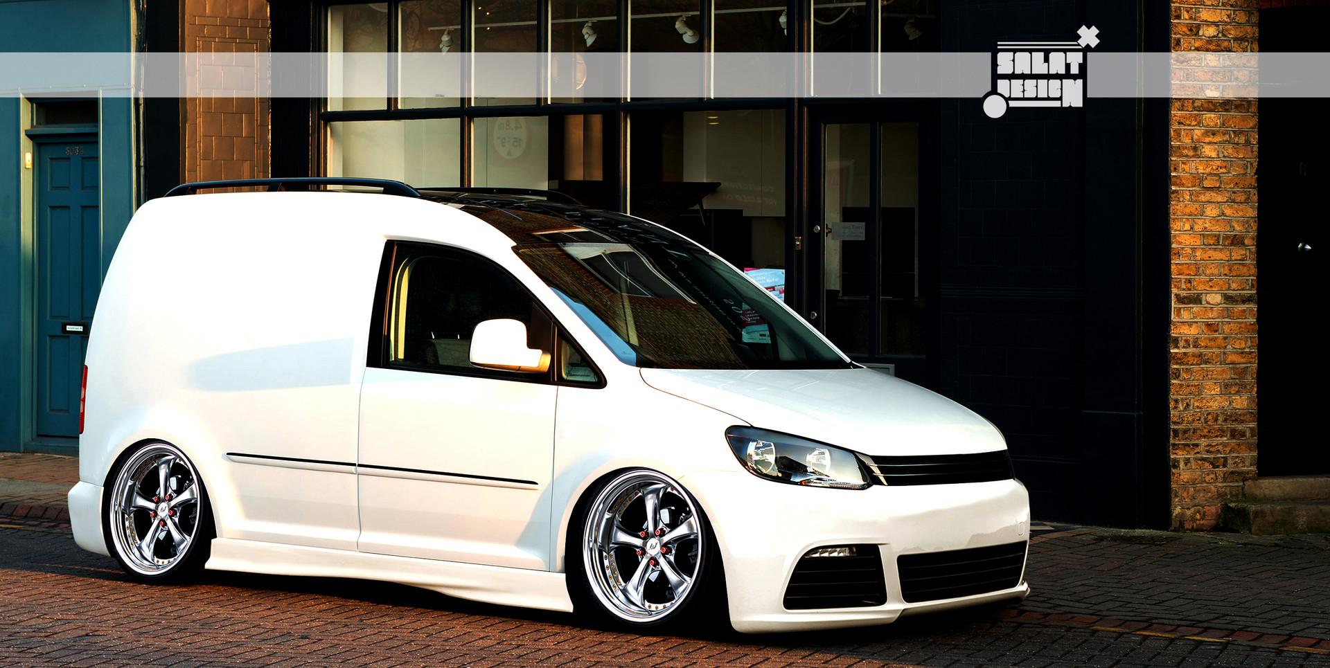ArtStation - VW Caddy R-edition GermanStyle, Srdjan Salat