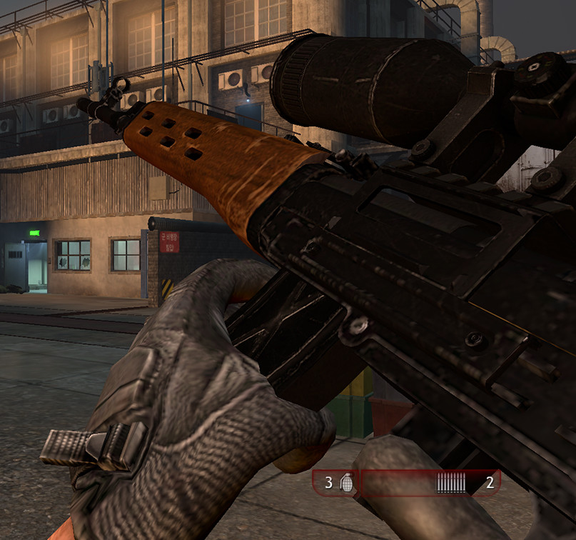 Dragunov in-game