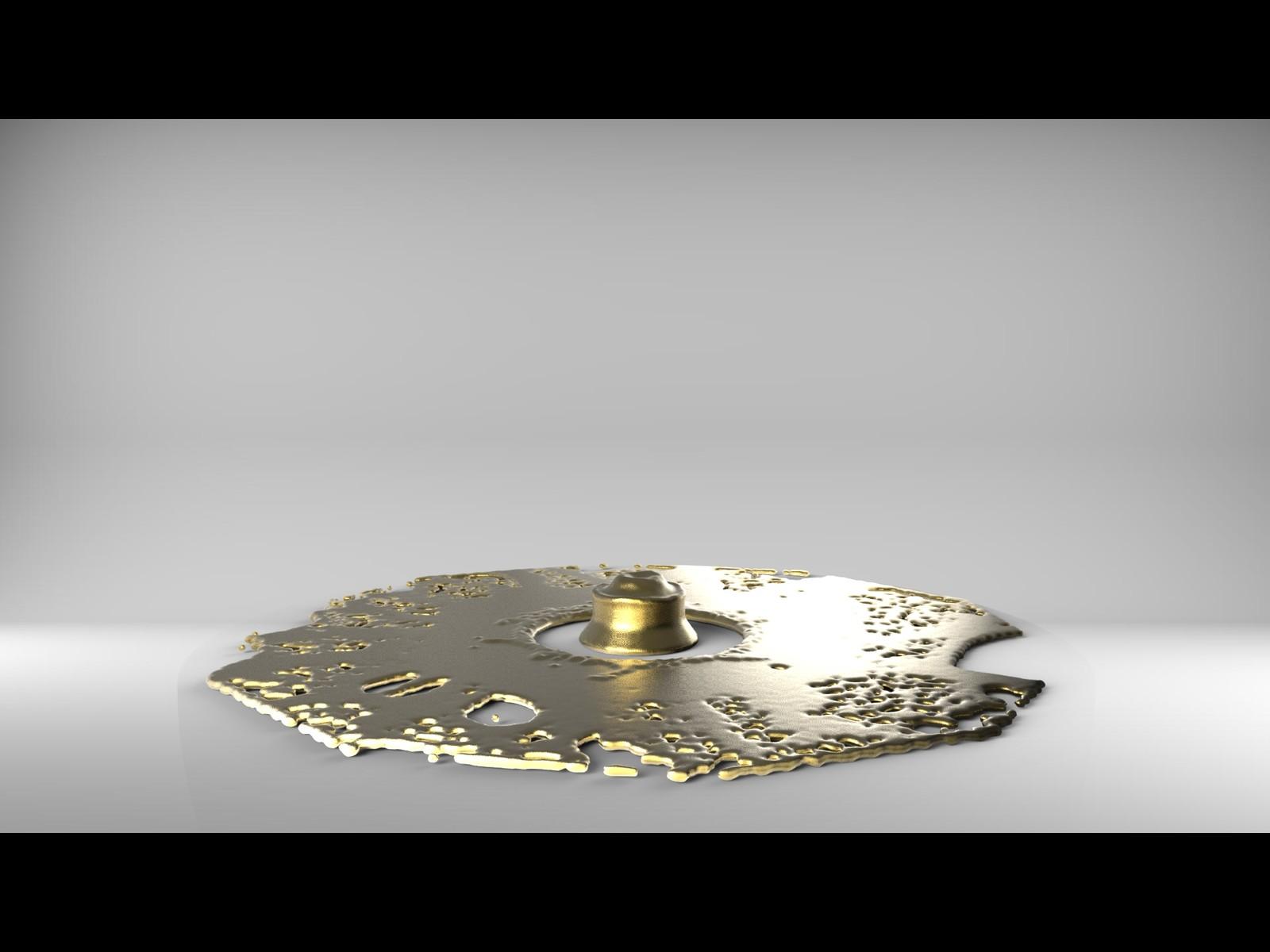 Gold Torus 2K  by hugo matilde