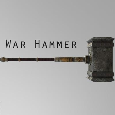 Victor anus war hammer