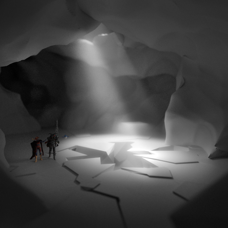 Abstract Cave