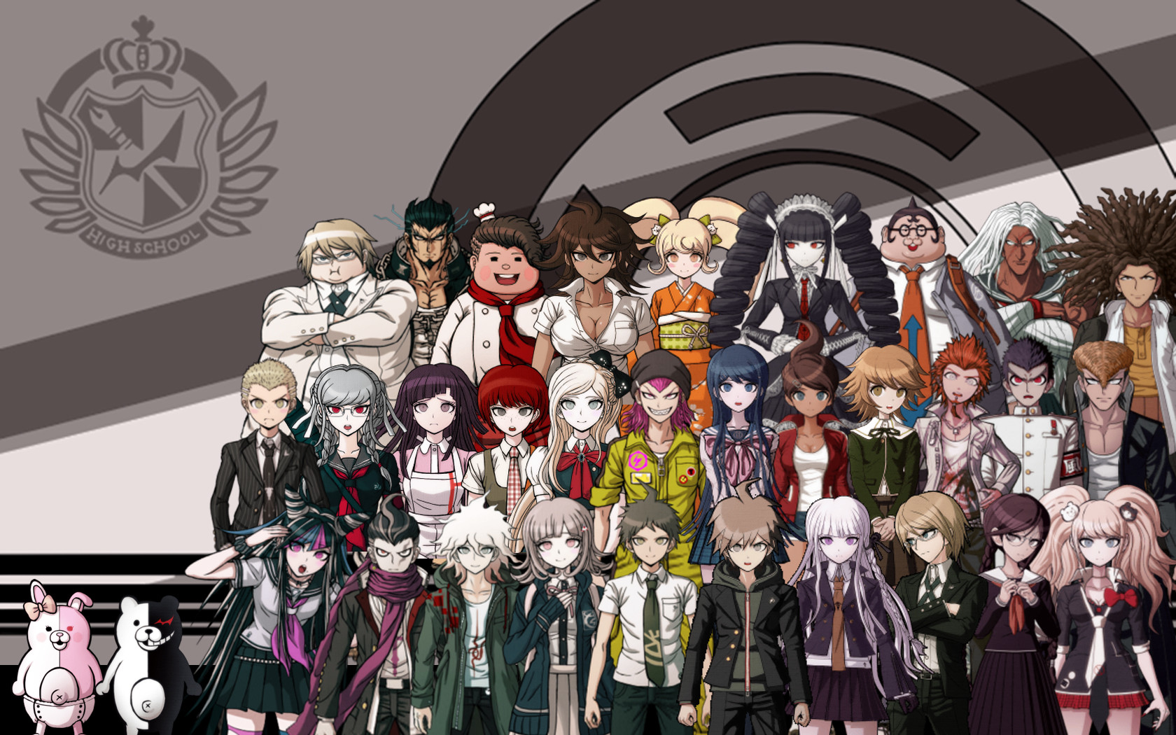 Matt Rampino Dangan Ronpa 1 and 2 Wallpaper