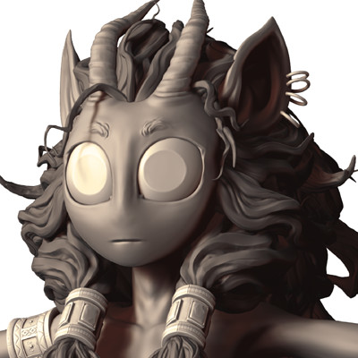 Maite vandewalle close up of that one sculpt by syrahde d8txmh0