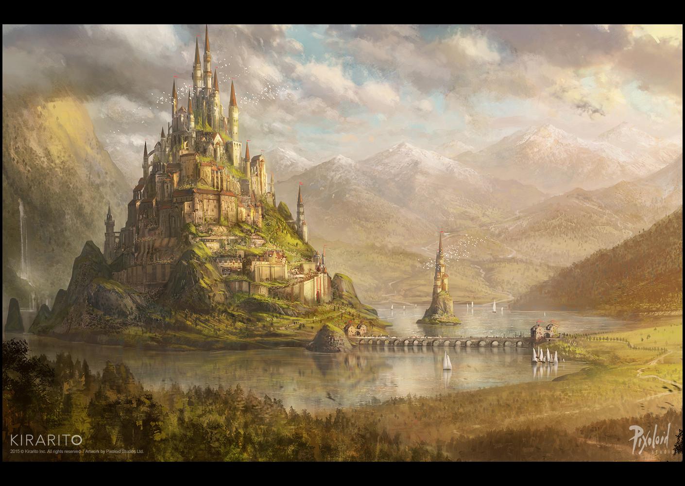 Ambientación - Situación actual de Ryouzan:  Pixoloid-studios-kirarito-fantasy-castle-c-pixoloid-studios