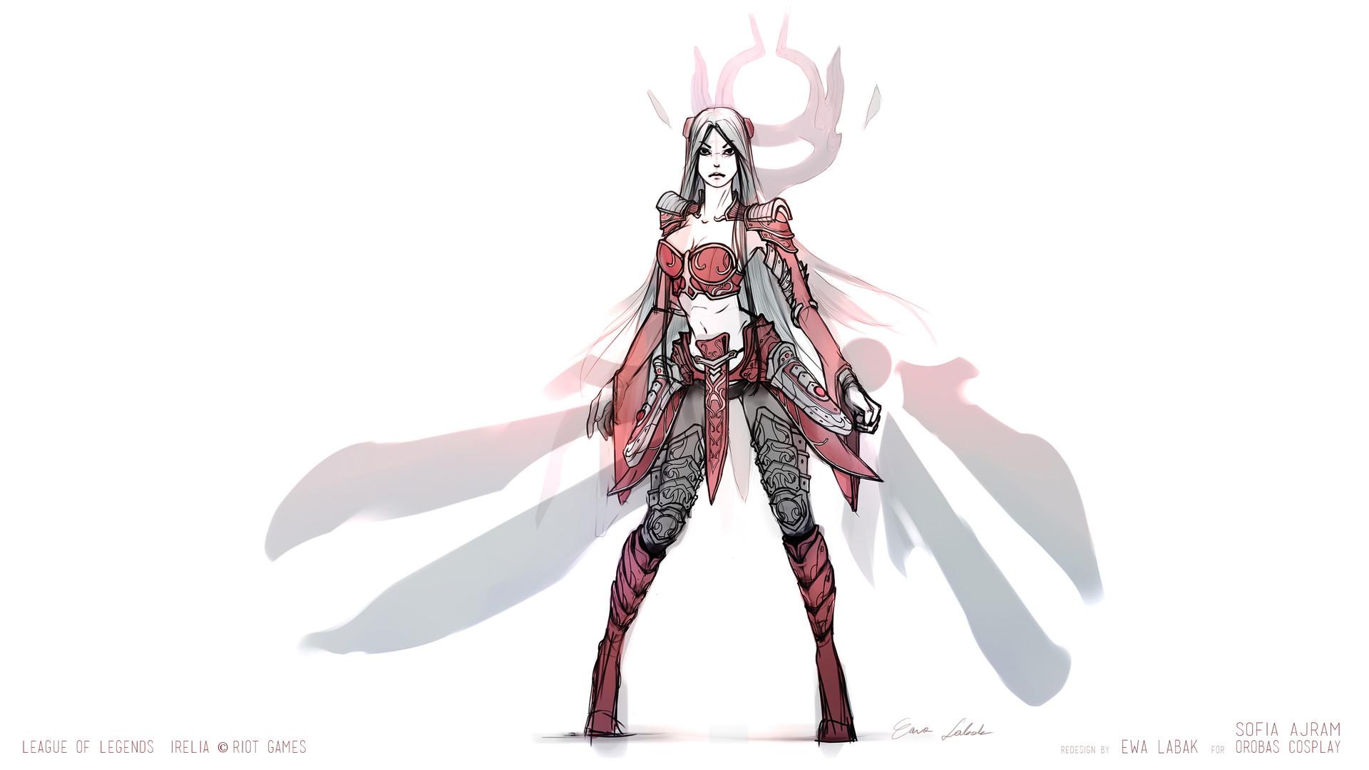 cosplay concept sketch