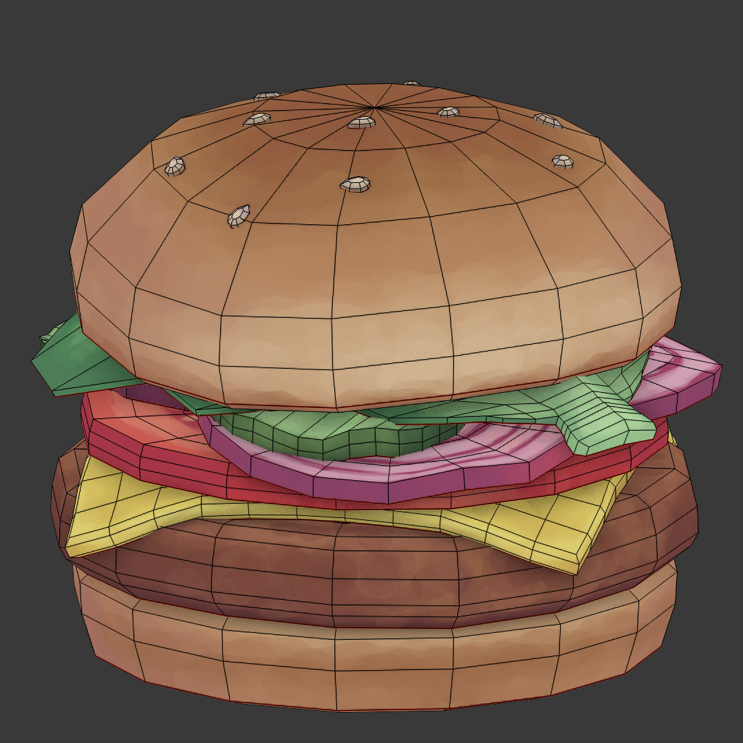 Conrad fay burger wireframe