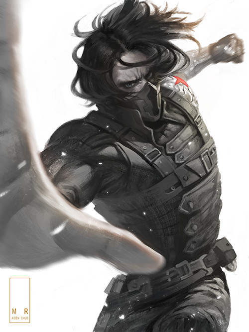 ArtStation - The Winter Soldier, AIDEN CHUO