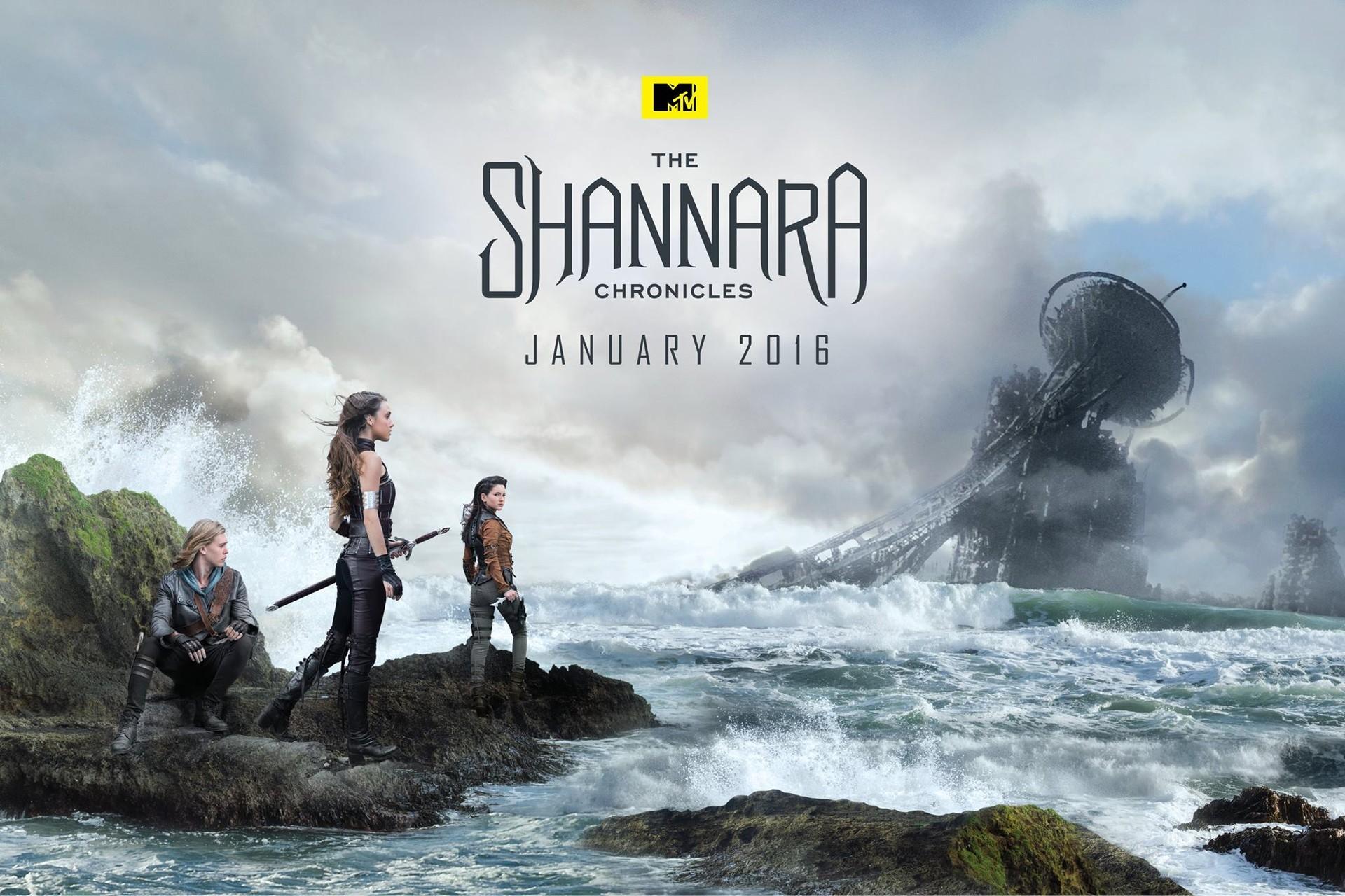 Paul gerrard the shannara chronicles poster