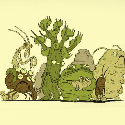 Jim bryson sick creatures 01 2