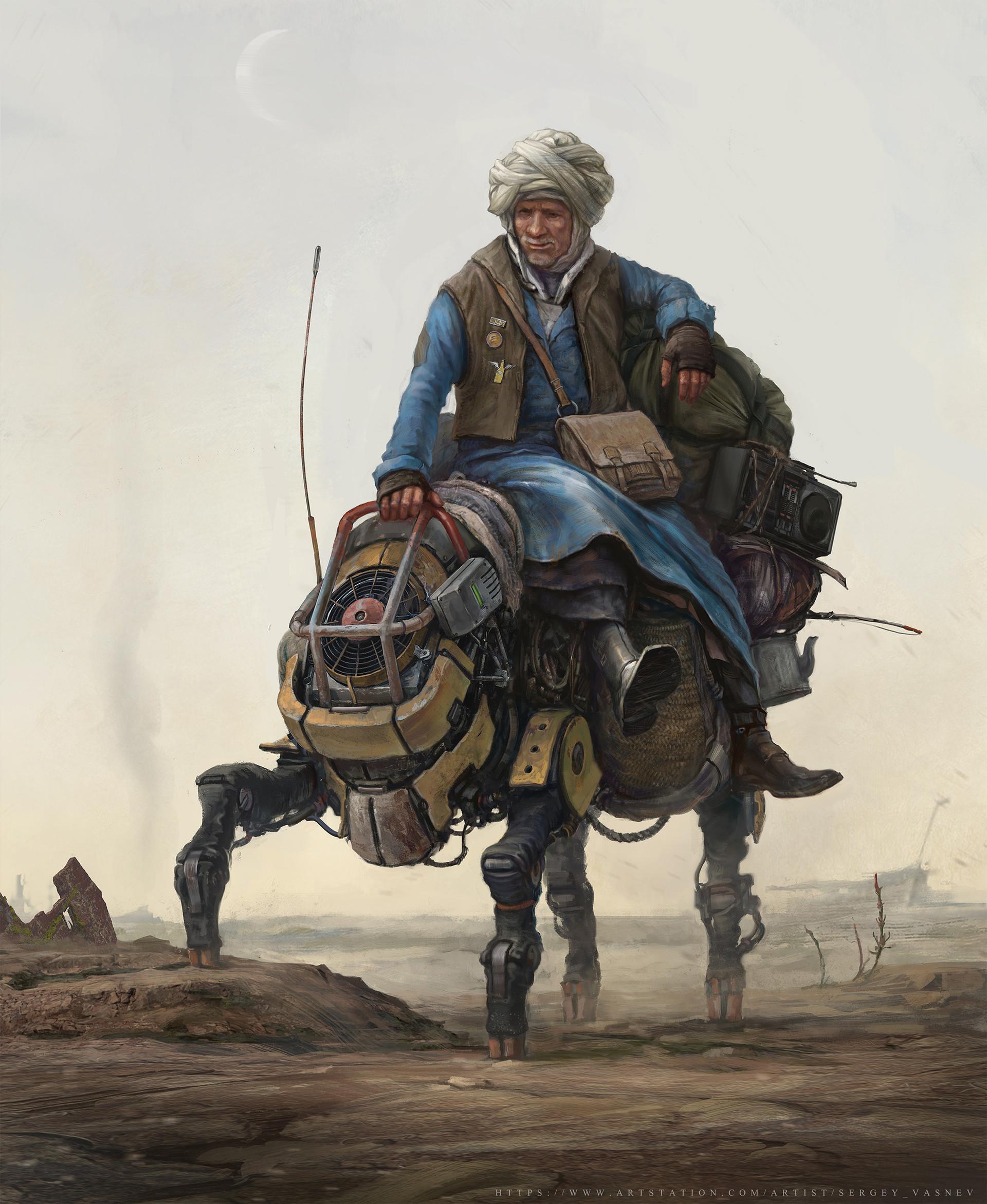 Sergey vasnev old wanderer