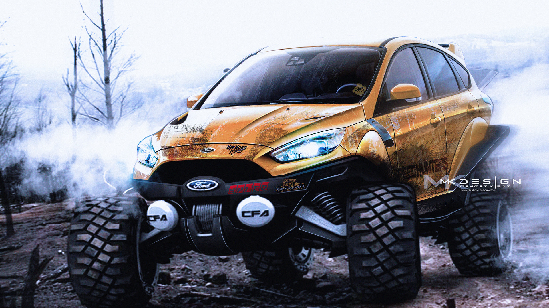 All Terrain Tires >> Mehmet Kırat - ford focus off road